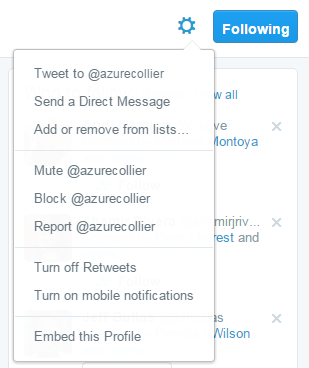 Create Twitter List step 4