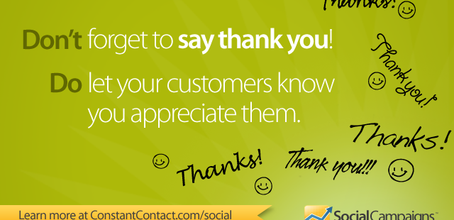 "Show Your Fans Some Love: Say ""Thank You"" with Your Facebook Page"