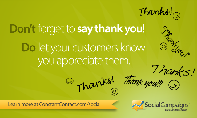 how to thank a customer