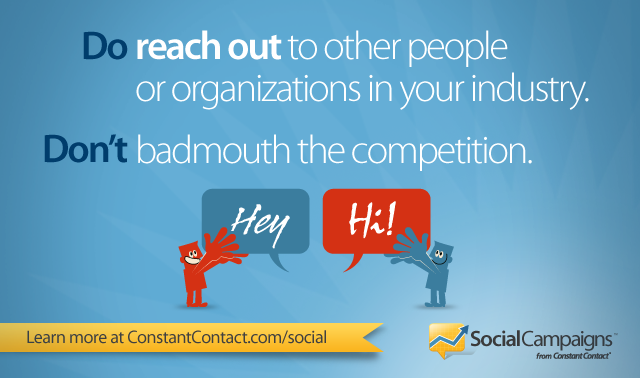 Keep It Positive: Don't Badmouth the Competition on Facebook