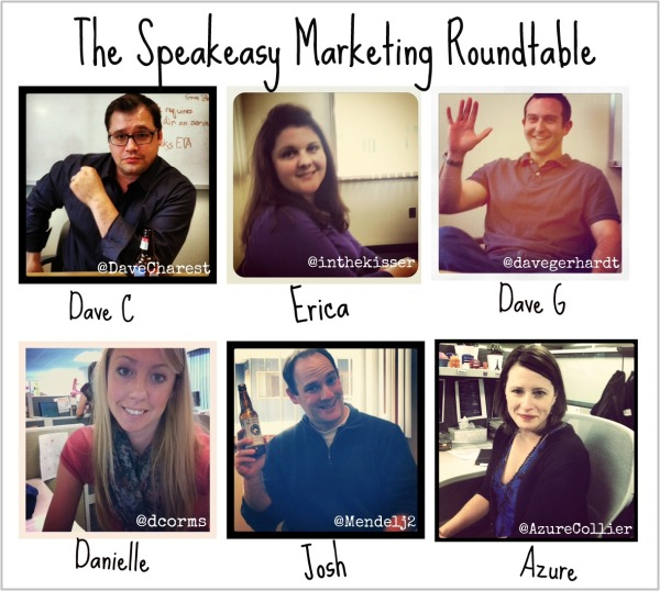 Pictures of the members of the Speakeasy Marketing Roundtable