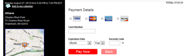 Collect Credit Card Payments Online With Your Next Event — NEW From EventSpot