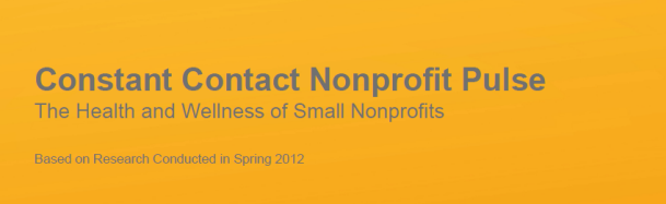 The State of Nonprofits in 2012 – The Data is in!