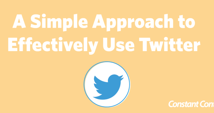 A Simple Approach to Effectively Use Twitter