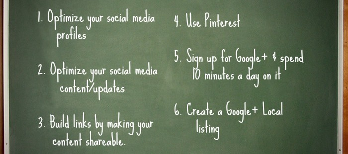 6 Uncomplicated Social SEO Tips for Small Businesses