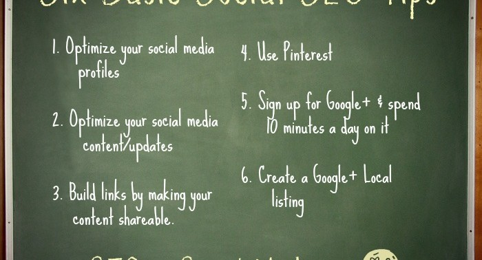 5 Uncomplicated Social SEO Tips for Small Businesses