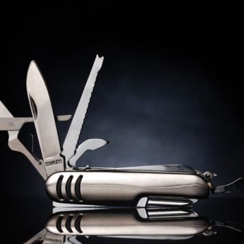 open all purpose knife