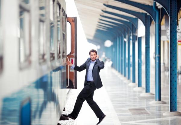 Man Mobile Train