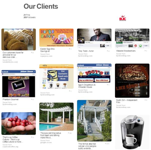BJC Branding Pinterest