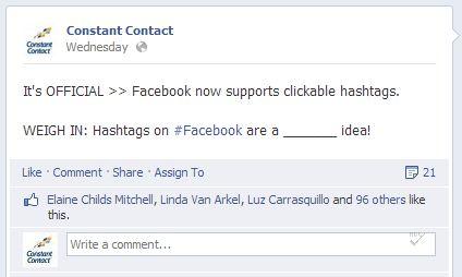 Facebook Hashtags1