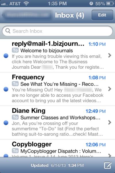 Mobile Inbox 2
