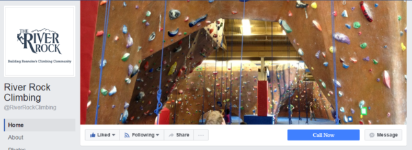 River Rock Climbing Cover Photo