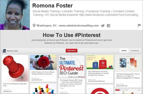 Romona Foster Pinterest