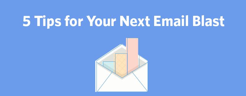 email blast header