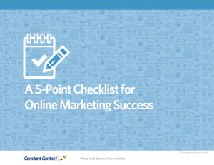 5-point-checklist
