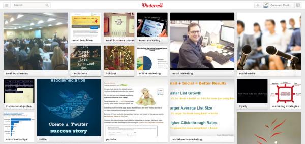 Pinterest Interests Pins