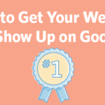 get your website to show up on google header
