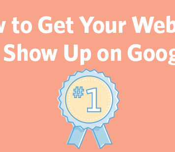 get your website to show up on google header