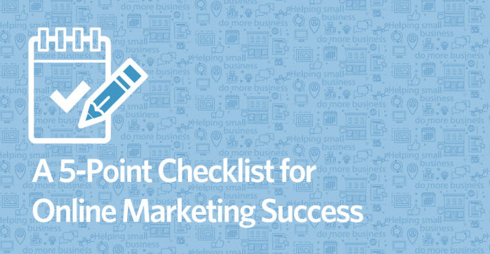 A 5-Point Checklist for Online Marketing Success
