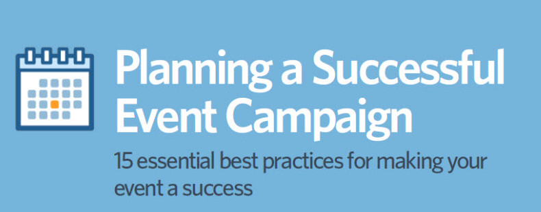 15 Best Practices for Running a Successful Event Campaign