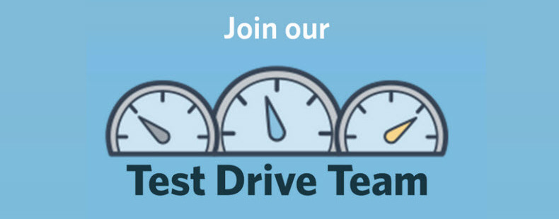 What is the Constant Contact Test Drive Team?
