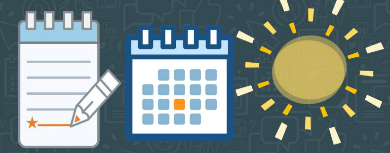8 Tips to Fill Your Summer Content Calendar