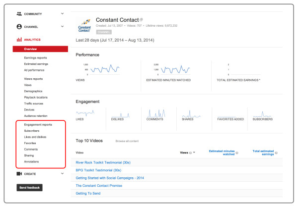 YouTube Analytics 5