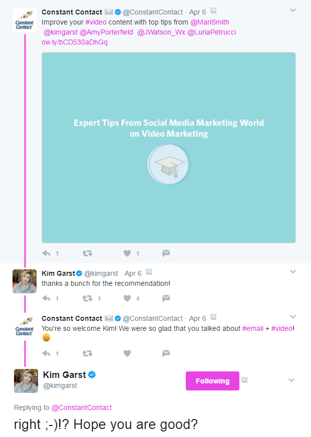 how to curate content on Twitter