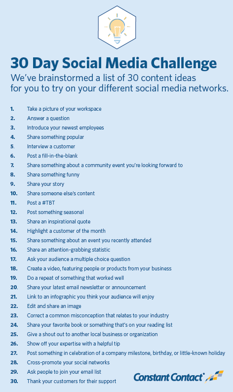 Not Sure What To Post On Social Media Try These 30 Ideas
