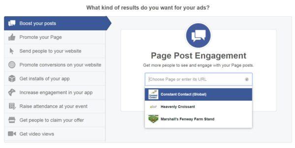 FB AD Screen
