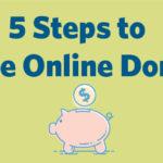 Increase online donation