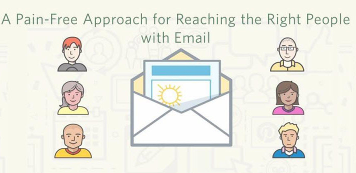 A Pain-Free Approach for Reaching the Right People with Email