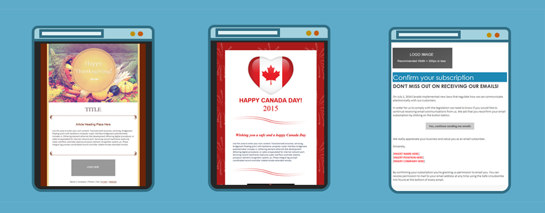 Introducing New Holiday Templates for Canadian Small Businesses