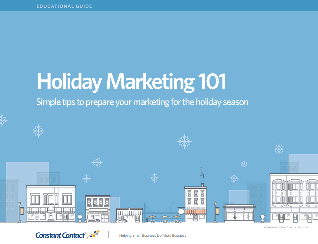 Holiday Marketing 101