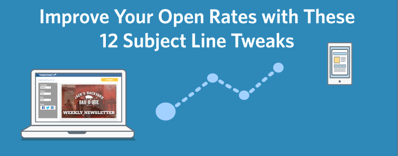 Improve Your Open Rates with These 12 Subject Line Tweaks