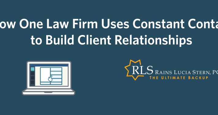 How One Law Firm Uses Constant Contact to Build Client Relationships