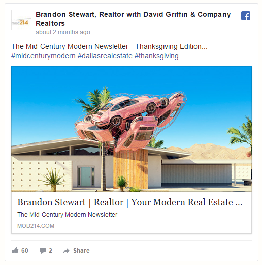 Facebook organic reach tip