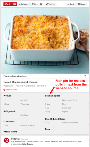 Macaroni and Cheese Pinterest