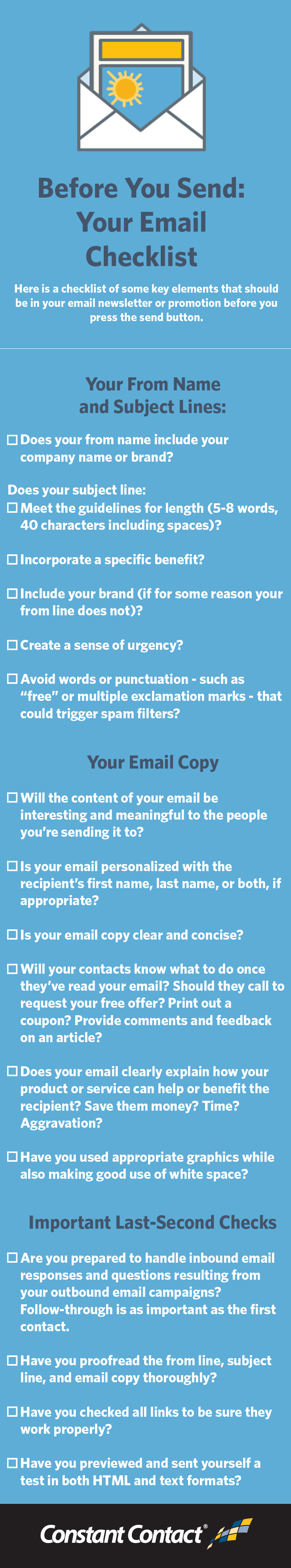 Email Checklist final