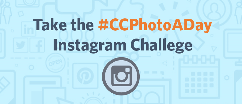 Take the #CCPhotoADay Instagram Challenge!