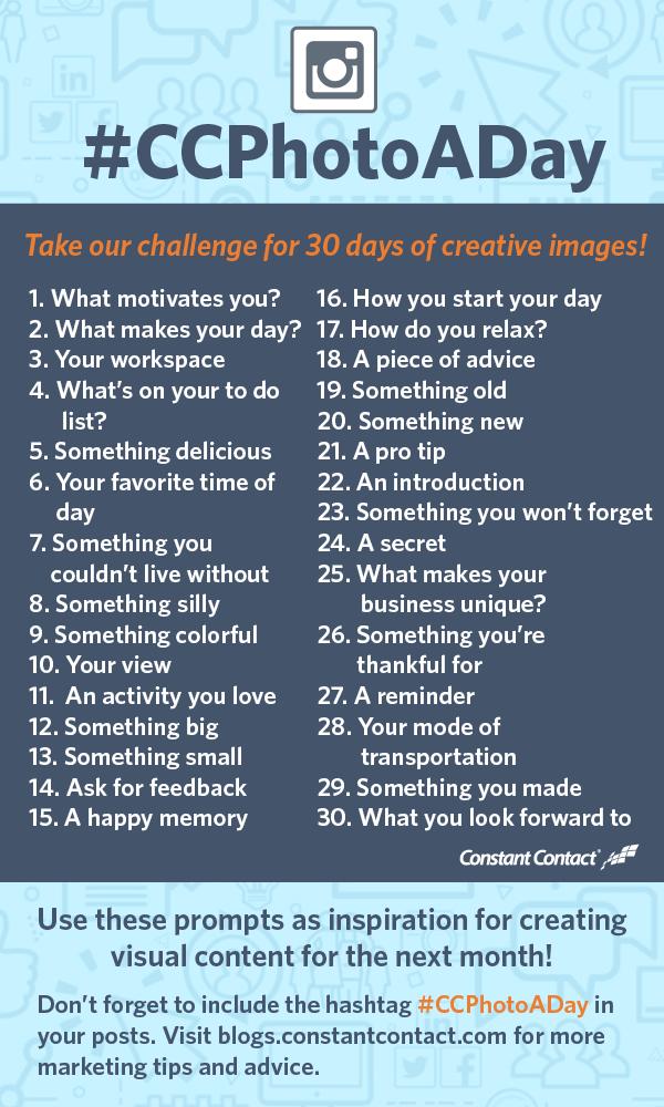 Instagram challenge image -- Pinterest