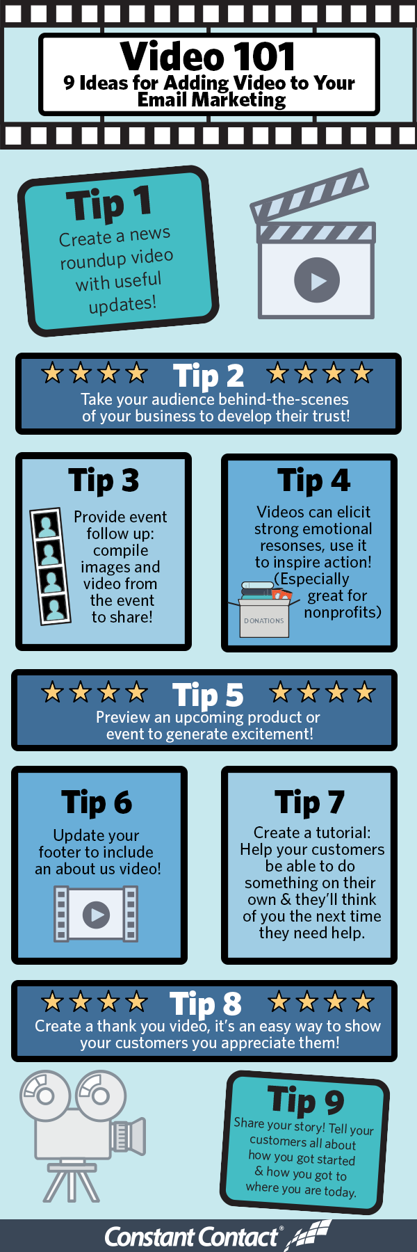 add video to your marketing infographic