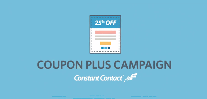 Introducing the New Coupon Plus Campaign from Constant Contact