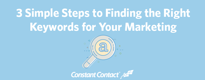 3 Simple Steps to Finding the Right Keywords for Your Marketing