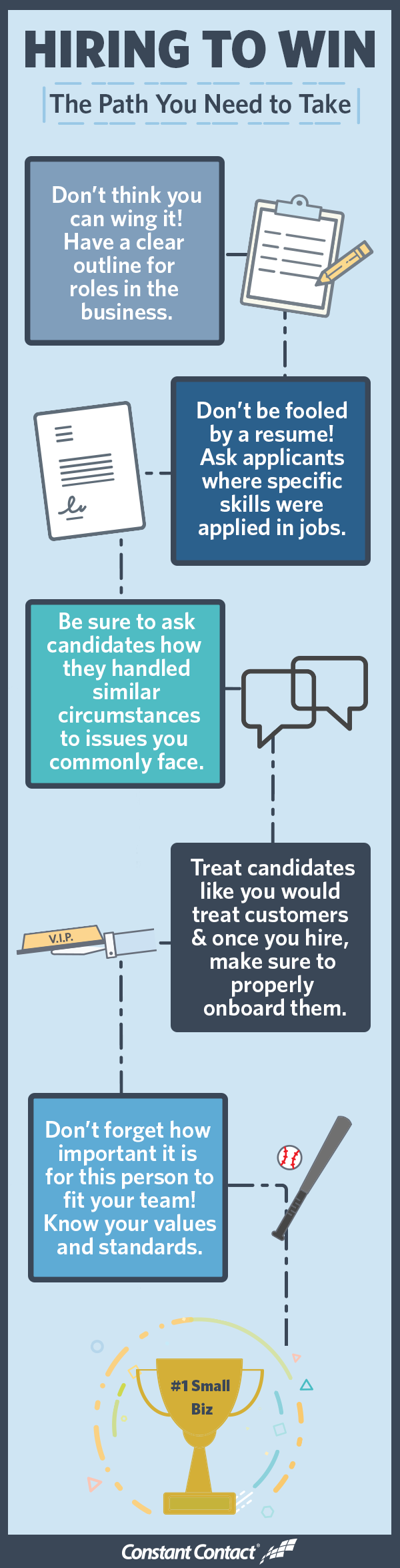 hiring to win infographic