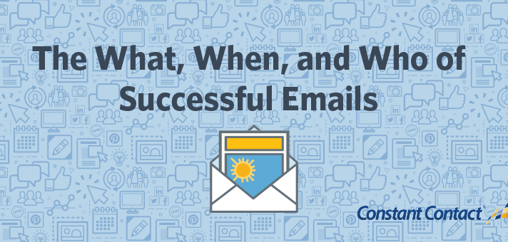 The What, When, and Who of Successful Emails