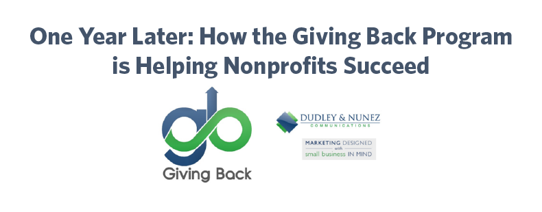 One Year Later: How the Giving Back Program is Helping Nonprofits Succeed