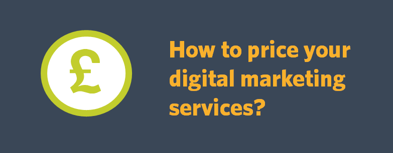 How to price your digital marketing services?