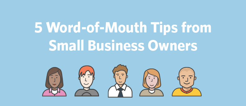business owner word of mouth tips