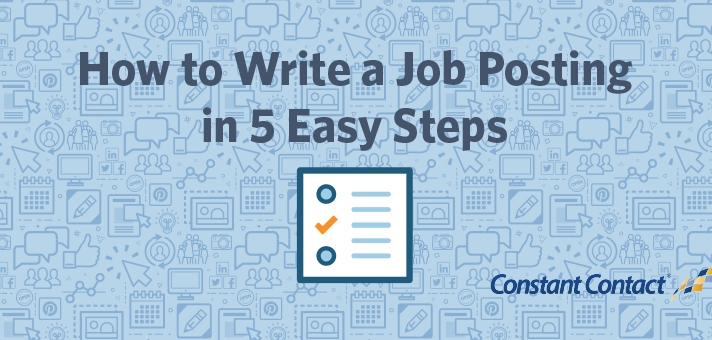 How to Write a Job Posting in 5 Easy Steps